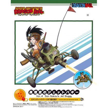 BANDAI Dragon Ball Mecha Colle vol.4 - Son Goku's Jet Buggy Figure Model Kit