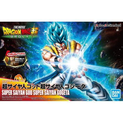 BANDAI Figure-Rise Standard Dragon Ball Z - Super Saiyan God Super Saiyan Gogeta Figure Plastic Model Kit
