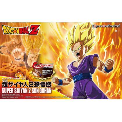 BANDAI Figure-Rise Standard Dragon Ball Z - Super Saiyan 2 Son Gohan Figure Plastic Model Kit