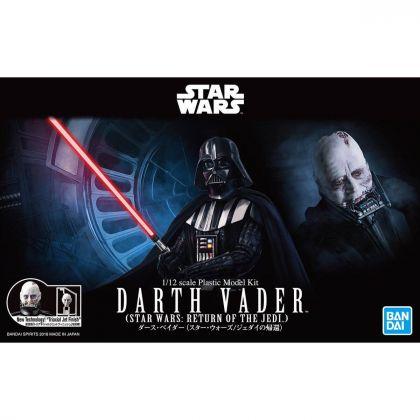 BANDAI Star Wars Darth Vader (Return of the Jedi) 1/12 scale Plastic Model Kit