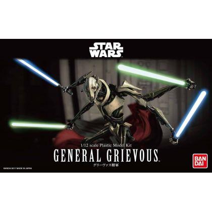 BANDAI Star Wars General Grievous 1/12 scale Plastic Model Kit