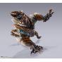 BANDAI S.H.MonsterArts Monster Hunter - Zinogre Figure