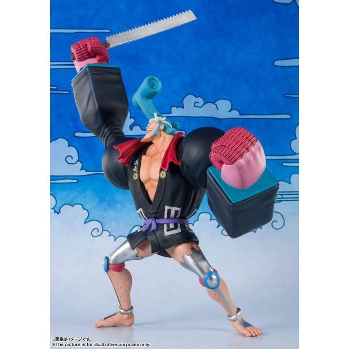 BANDAI Figuarts Zero One Piece Wa no Kuni - Franky (Franosuke) Figure