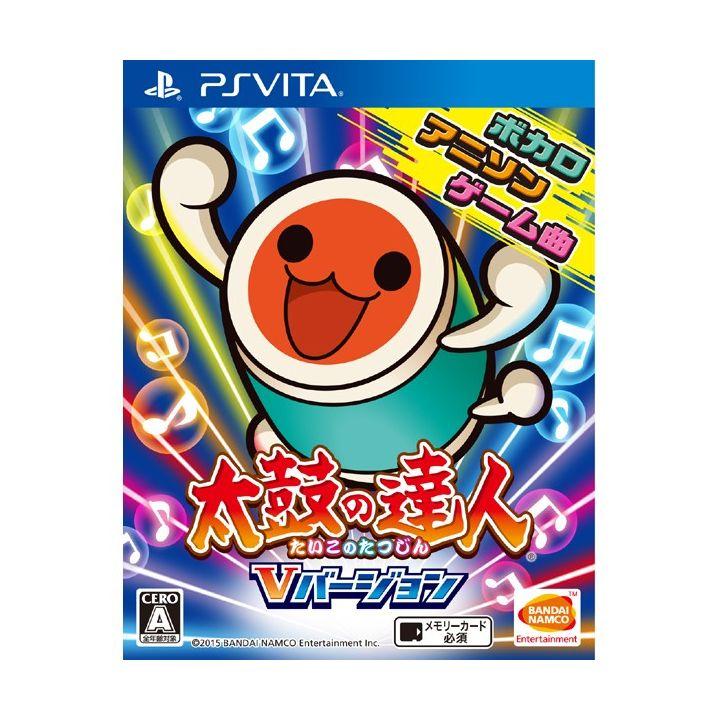 BANDAI NAMCO Taiko No Tatsujin V version  [PS Vita software]