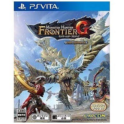 Capcom Monster Hunter Frontier G [ps vita software]