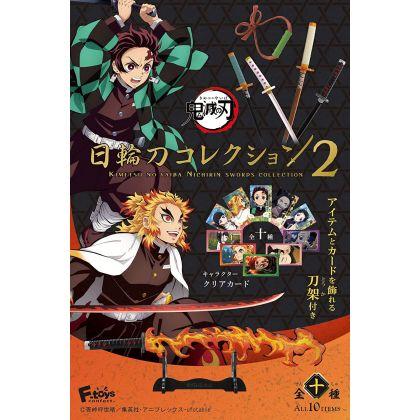 F-TOYS Kimetsu no Yaiba (Demon Slayer) Nichirintô Katana Collection vol.2 BOX (10pcs)