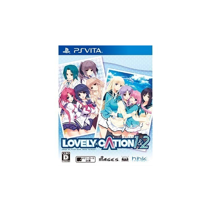 5pb.Games LOVELY×CATION 1&2 [PS Vitasoftware]