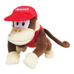San'eibōeki NINTENDO AC21 [Super Mario ALL STAR COLLECTION stuffed Diddy Kong S]