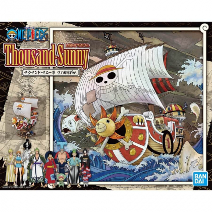 BANDAI MG One Piece: Thousand Sunny Ship Land of Wano Ver. Plastic Model Kit