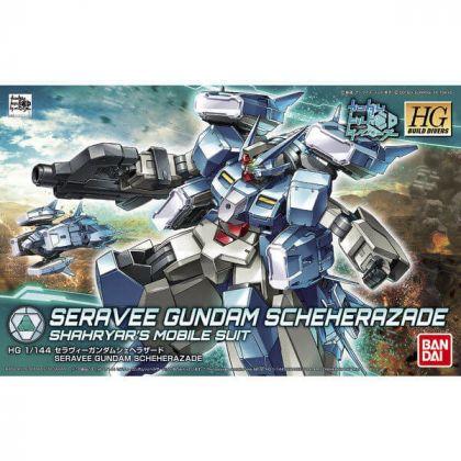 BANDAI HGBD Mobile Suit Gundam Build Divers - Seravee Gundam Scheherazade Shahryar's Mobile Suit Model Kit