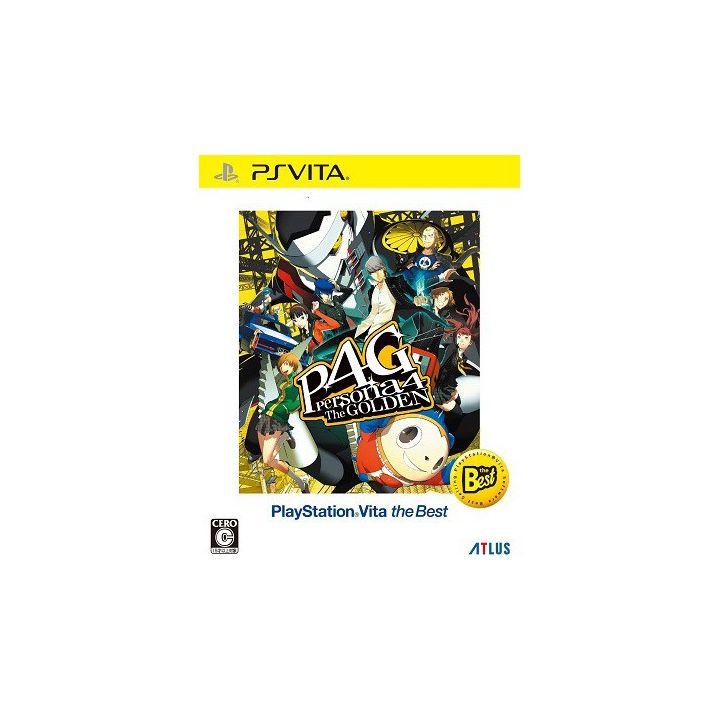 Atlus Persona 4 the Golden PlayStationVita the Best [ps vita software]