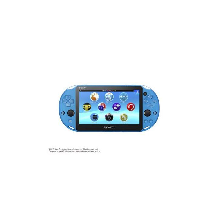 SCE Sony Computer Entertainment Inc. Modèle PlayStation Vita Wi-Fi Aqua Blue [PS Vita corps PCH-2000ZA23]