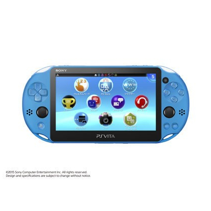 SCE Sony Computer Entertainment Inc. Modèle PlayStation Vita Wi-Fi Aqua Blue [PS Vita corps PCH-2000ZA23]