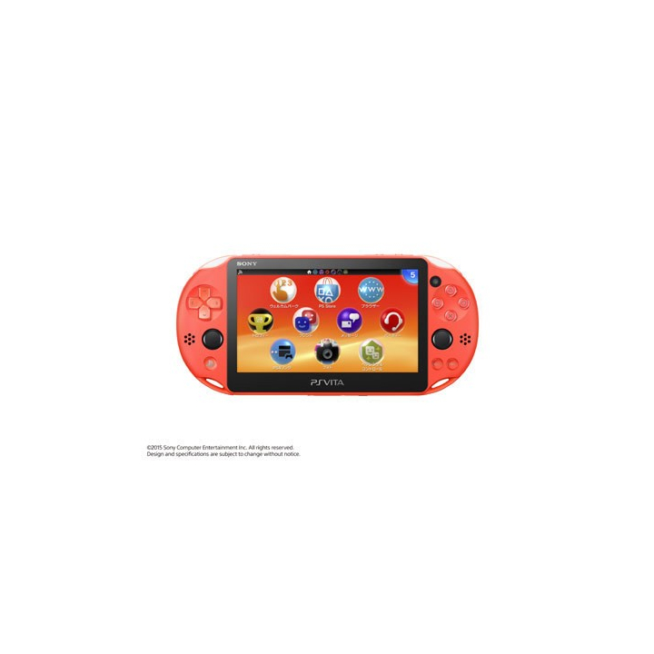SCE Sony Computer Entertainment Inc. PlayStation Vita Wi-Fi modèle orange néon [PS Vita corps PCH-2000ZA24]