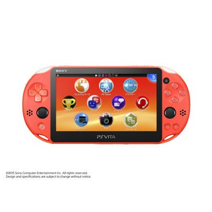 SCE Sony Computer Entertainment Inc. PlayStation Vita Wi-Fi modèle orange néon [PS Vita corps PCH-2000ZA24]