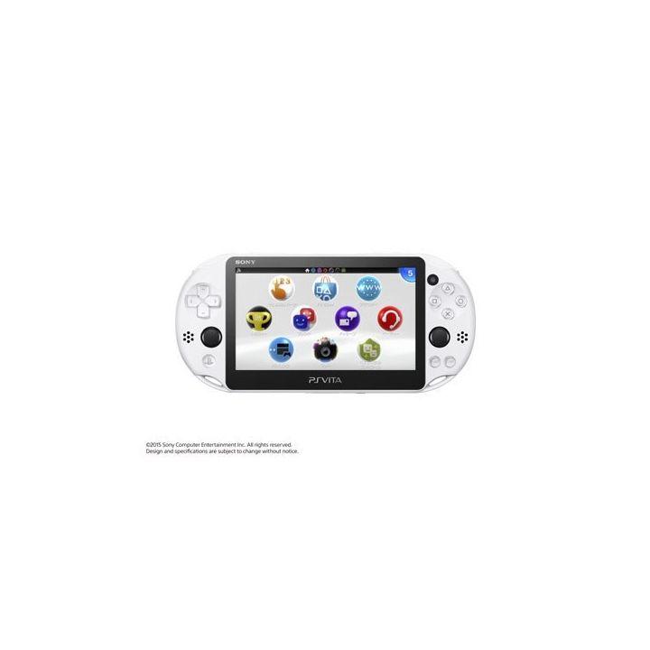 SCE Sony Computer Entertainment Inc. Modèle PlayStation Vita Wi-Fi Glacier blanc [PS Vita corps PCH-2000ZA22]