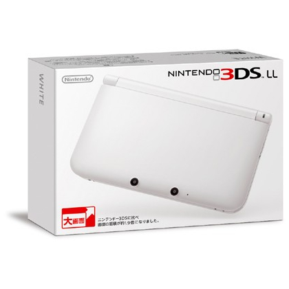 Nintendo 3DS LL Blanc