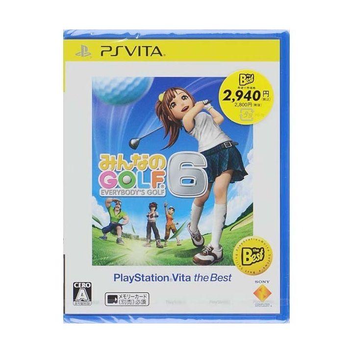 SCE Everybody's Gold 6   PlayStationVita the Best [PS Vita software]