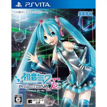 Sega Vocaloid Project Diva F 2nd [ps vita software]
