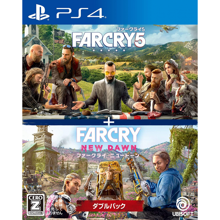 UBISOFT - Far Cry 5 + Far Cry New Dawn Double Pack for Sony Playstation PS4