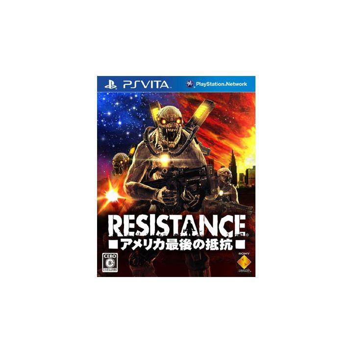 SCE Sony Computer Entertainment Inc. RESISTANCE - America last resistance - [ for PSVita ]