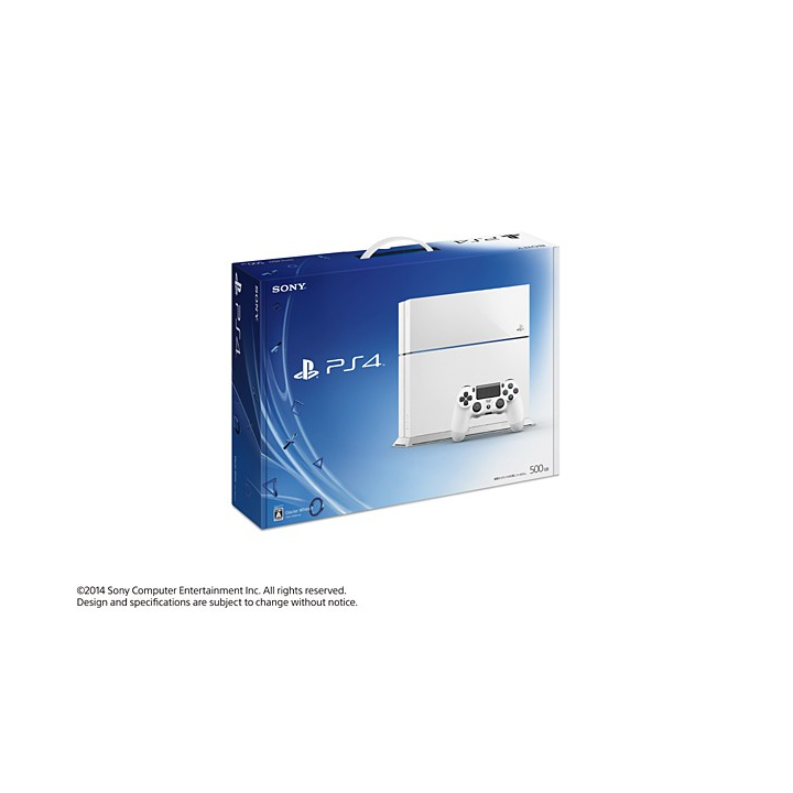 SCE Sony Computer Entertainment Inc. PlayStation 4 Blanc