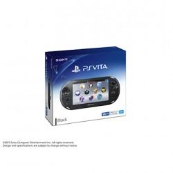 SCE Sony Computer Entertainment Inc. PlayStation Vita Wi-Fi  noir PCH-2000ZA11