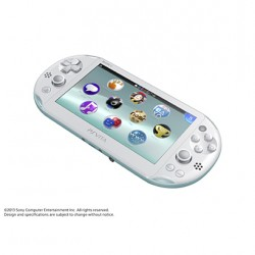 SCE Sony Computer Entertainment Inc. PlayStation Vita Wi-Fi bleu clair / blanc  PCH-2000ZA14