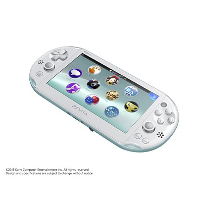 SCE Sony Computer Entertainment Inc. PlayStation Vita Wi-Fi bleu clair / blanc  PCH-2000ZA14