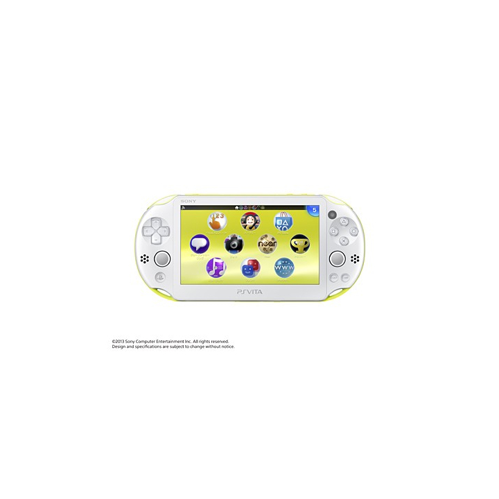 SCE Sony Computer Entertainment Inc. PlayStation Vita Wi-Fi vert lime / blanc PCH-2000ZA13
