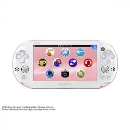 SCE Sony Computer Entertainment Inc. PlayStation Vita Wi-Fi blanche rose  PCH-2000ZA19