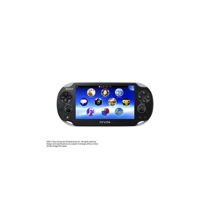 SCE Sony Computer Entertainment Inc. PlayStation Vita 3G / Wi-Fi Black Crystal Limited Edition PCH-1100 AB01