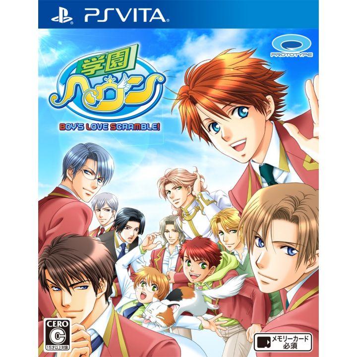 PROTOTYPE Gakuen Heaven BOY'S LOVE SCRAMBLE! [PS Vita software ]