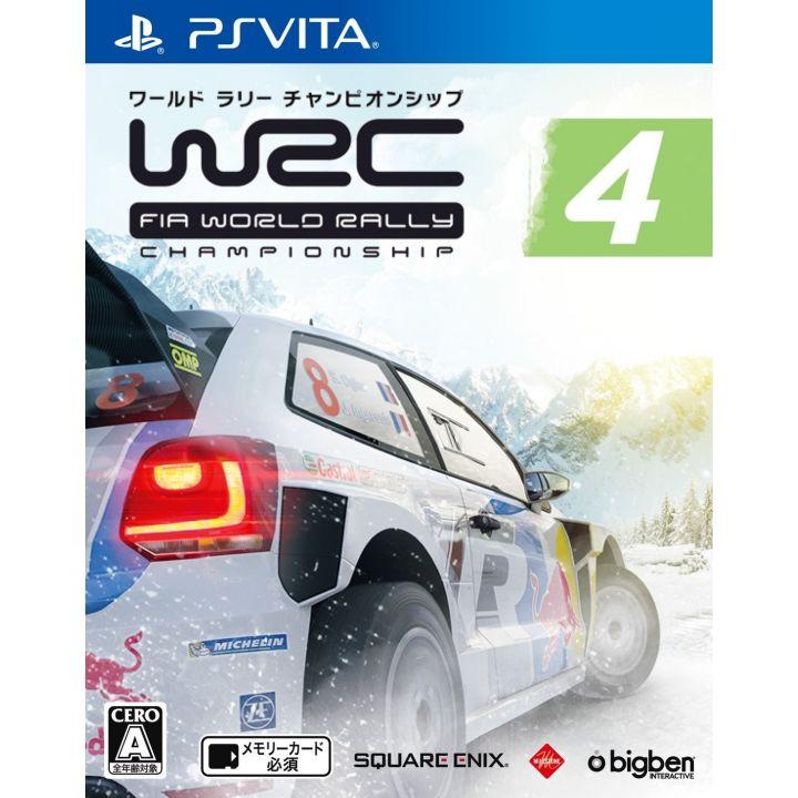 SQUARE ENIX WRC4 FIA World Rally Championship [PS Vita]