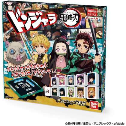 BANDAI Donjara - Ponjan Kimetsu no Yaiba (Demon Slayer) Board Game