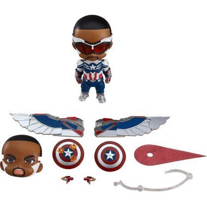 Good Smile Company - Nendoroid The Falcon and the Winter Soldier - Captain America (Sam Wilson) DX Figure