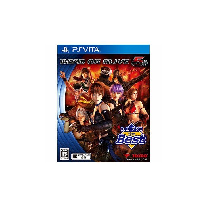 Koei Tecmo Games the Best DEAD OR ALIVE 5 PLUS [PS Vita software ]