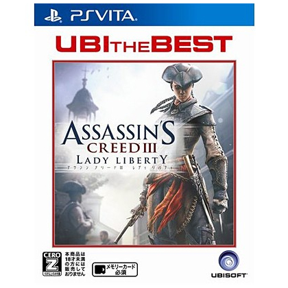 Ubisoft UBI THE BEST Assassin's Creed III: Liberation [PS Vita software ]