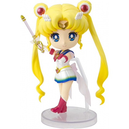 BANDAI Figuarts Mini Sailor Moon - Super Sailor Moon - Eternal edition