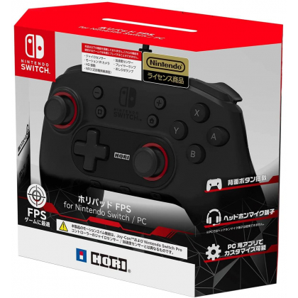 HORI - Hori Pad FPS Controller for Nintendo Switch / PC