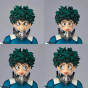 KAIYODO - figurecomplex AMAZING YAMAGUCHI - My Hero Academia - Izuku Midoriya Figure