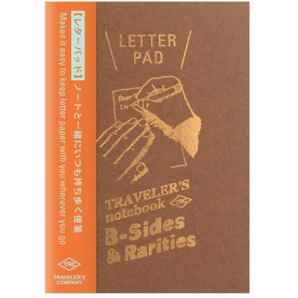 Travelers Notebook Refill - Letter Pad 14441006 Passport Size