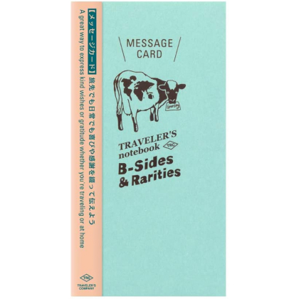 Travelers Notebook Refill -  Message Card 14432006