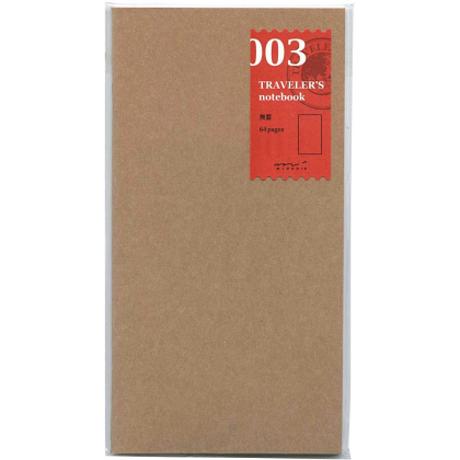 Travelers Notebook - Cahier Recharge 03 - Uni - 14247006