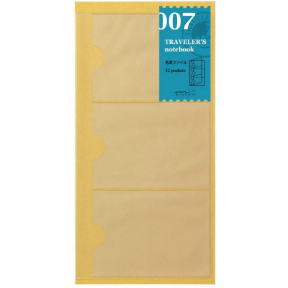 Travelers Notebook Refill 07 - Pockets for cards 14301006