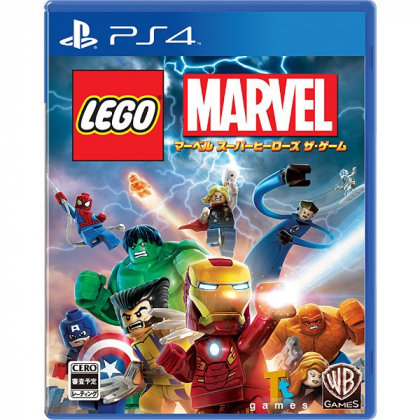 WARNER ENTERTAINMENT JAPAN LEGO Marvel Super Heroes The Game [PS4 software ]