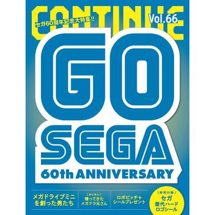 Mook - CONTINUE Vol.66 Sega...