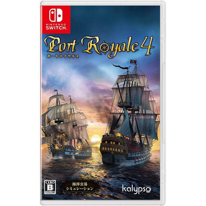 Kalypso Media Port Royale 4 for Nintendo Switch