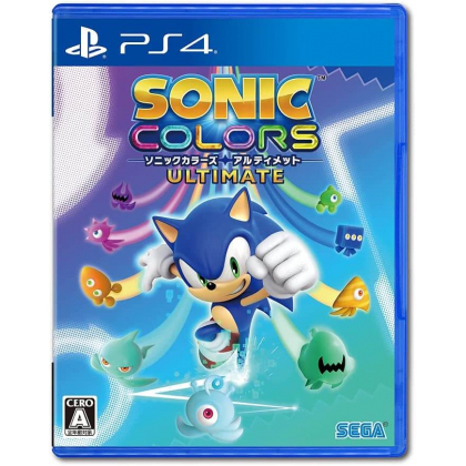 Sega Sonic Colors Ultimate for Playstation PS4