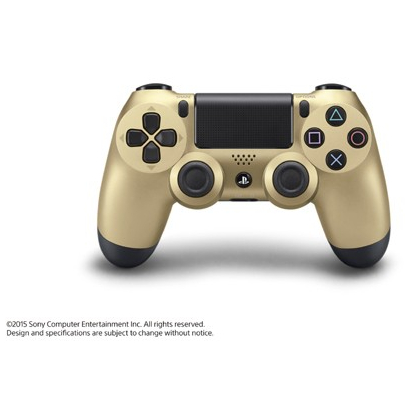 SCE Sony Computer Entertainment Inc. Wireless Controller DUALSHOCK ( Dual Shock ) 4 CUH-ZCT1J [ Gold for PS4